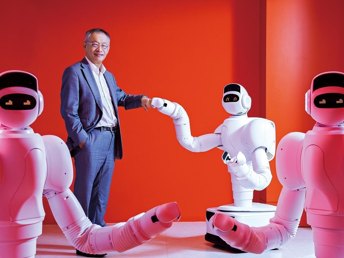 月付四萬可租「看護」幫手!日本前10大養老院都靠它 睿智通「照護機器人」穩抓長照商機
