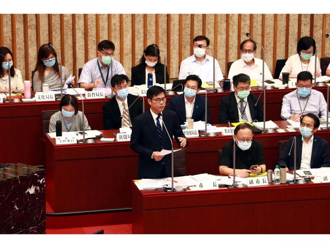 首度赴議會施政報告 陳其邁:為下一個百年奠定堅實發展基礎