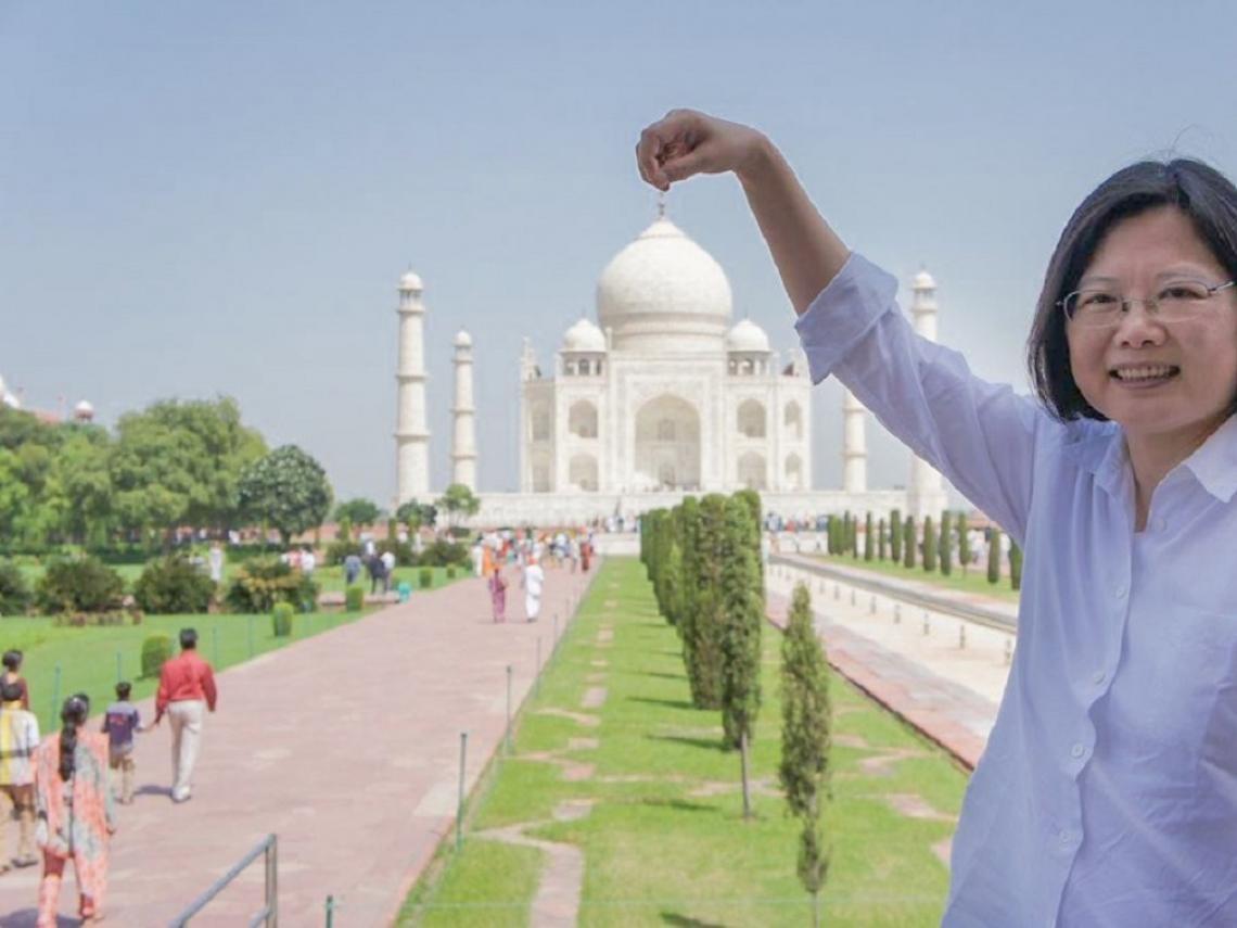 印度吹起「辣台妹」風!蔡英文推特、IG粉絲暴增 「台灣」成現今最熱關鍵字