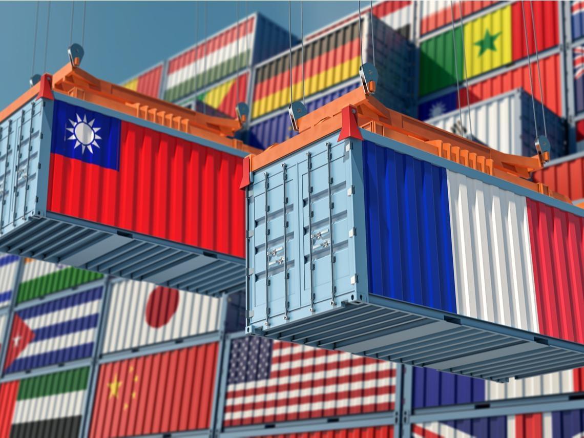 台灣與法國在武漢肺炎期間增進雙邊關係