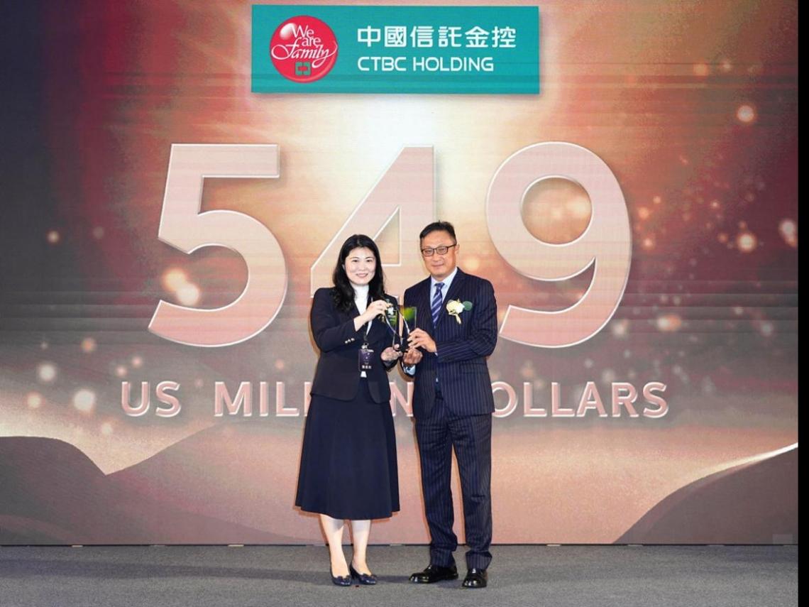 中國信託5度蟬聯「台灣國際品牌價值調查」金融業第一名  「這些原因」是勝出關鍵