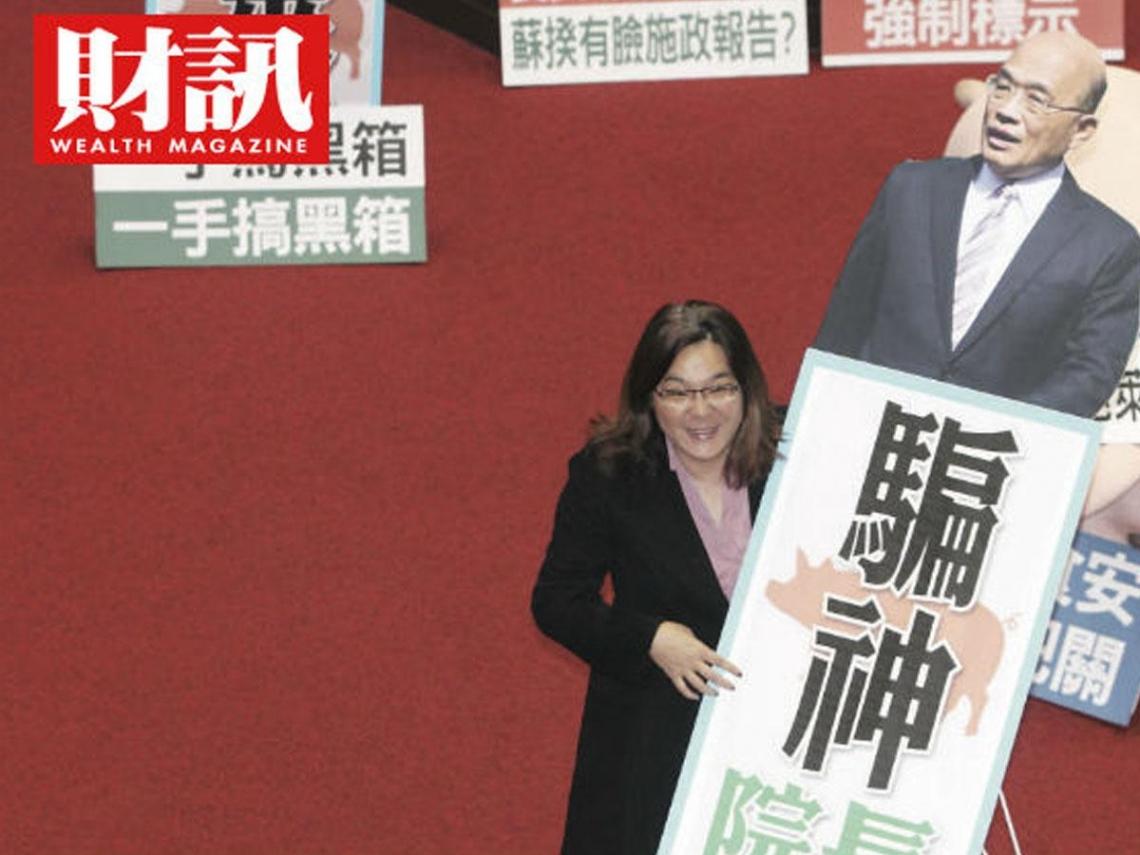 蘇貞昌陷萊豬風暴!強勢對抗國民黨杯葛 逼得蔡英文火線救援