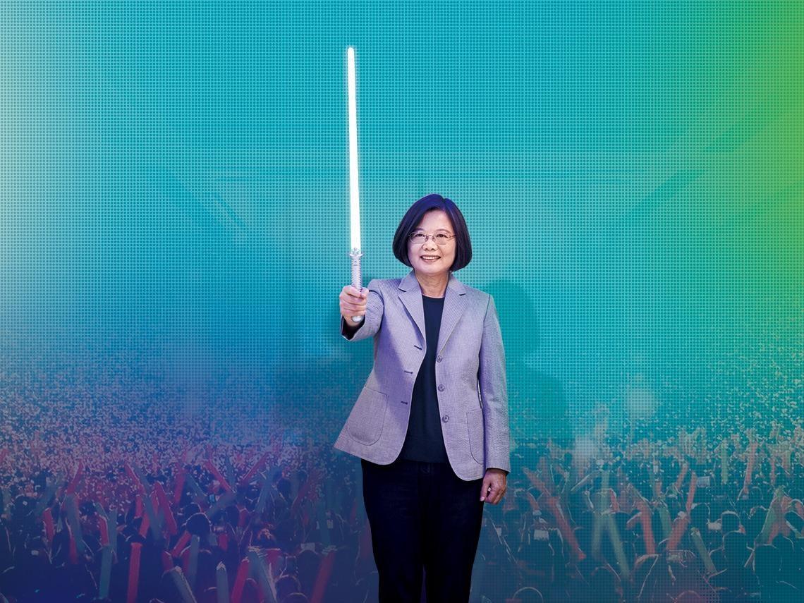 台灣總統》民主島國成就的集體投射 蔡英文