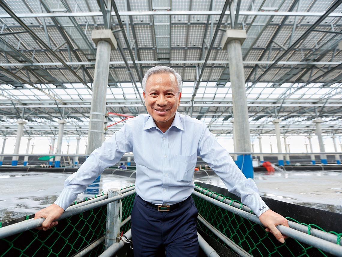 漁電突圍》營農型光電先驅獲富爸爸捧錢投資 圈地380公頃打造SOP  他要讓小漁村變科技養殖村