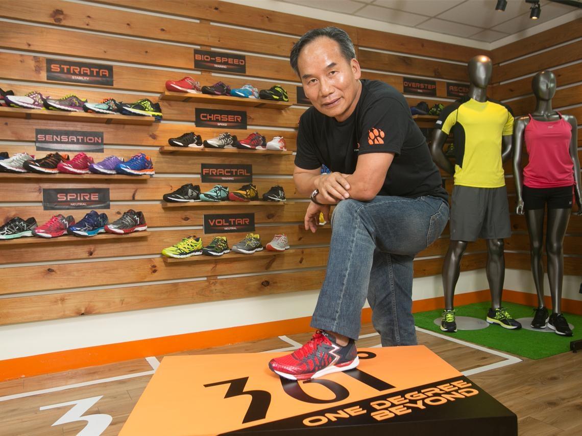 把中國運動鞋推向奧運的台灣人