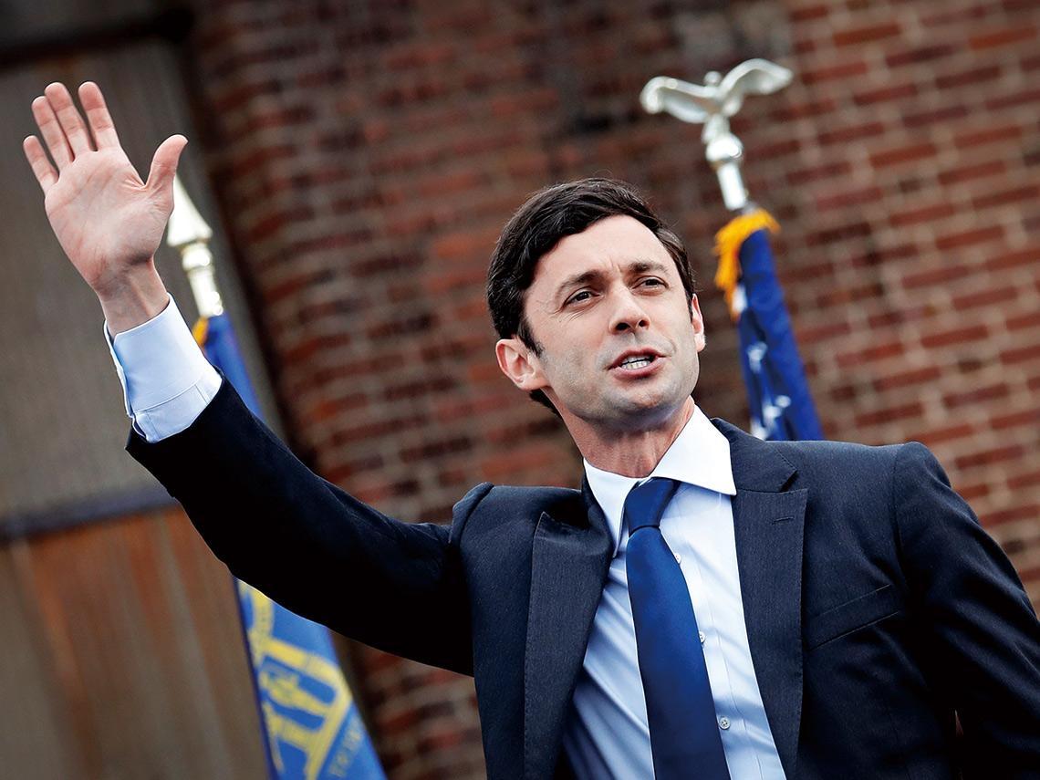 33歲報導者  成民主黨完全執政最後拼圖 美最年輕參議員  用揭弊熱血撼動舊政治