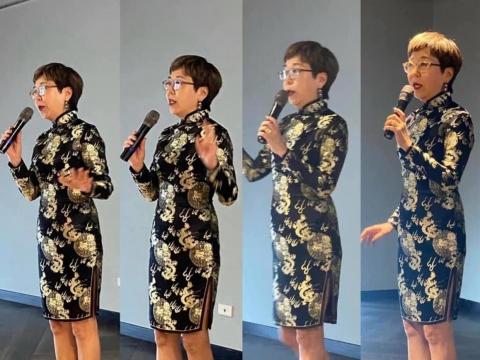 穿旗袍是莊重典雅,俐落大方的打扮!張薇薇:衣服是種言語,各人住在各人的衣服裡