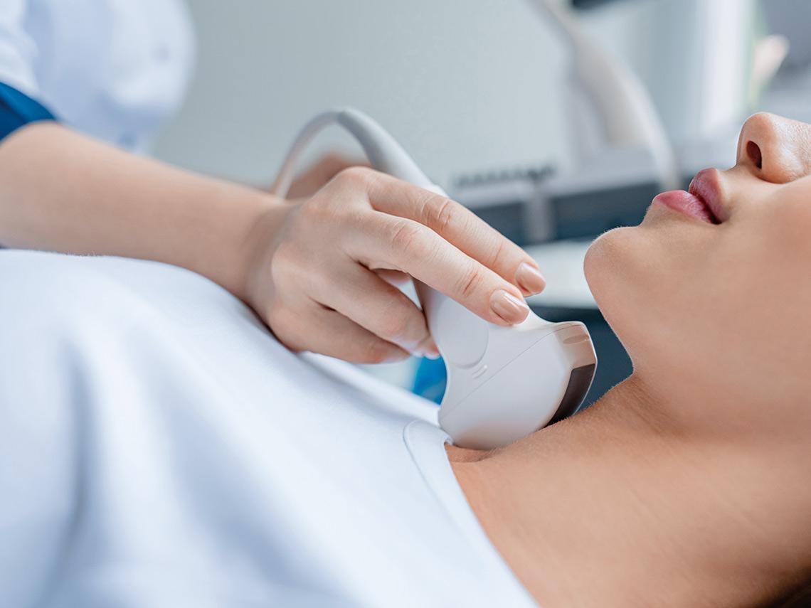 「甲狀腺結節」很嚇人? 超音波儀器最小0.1公分即可發現