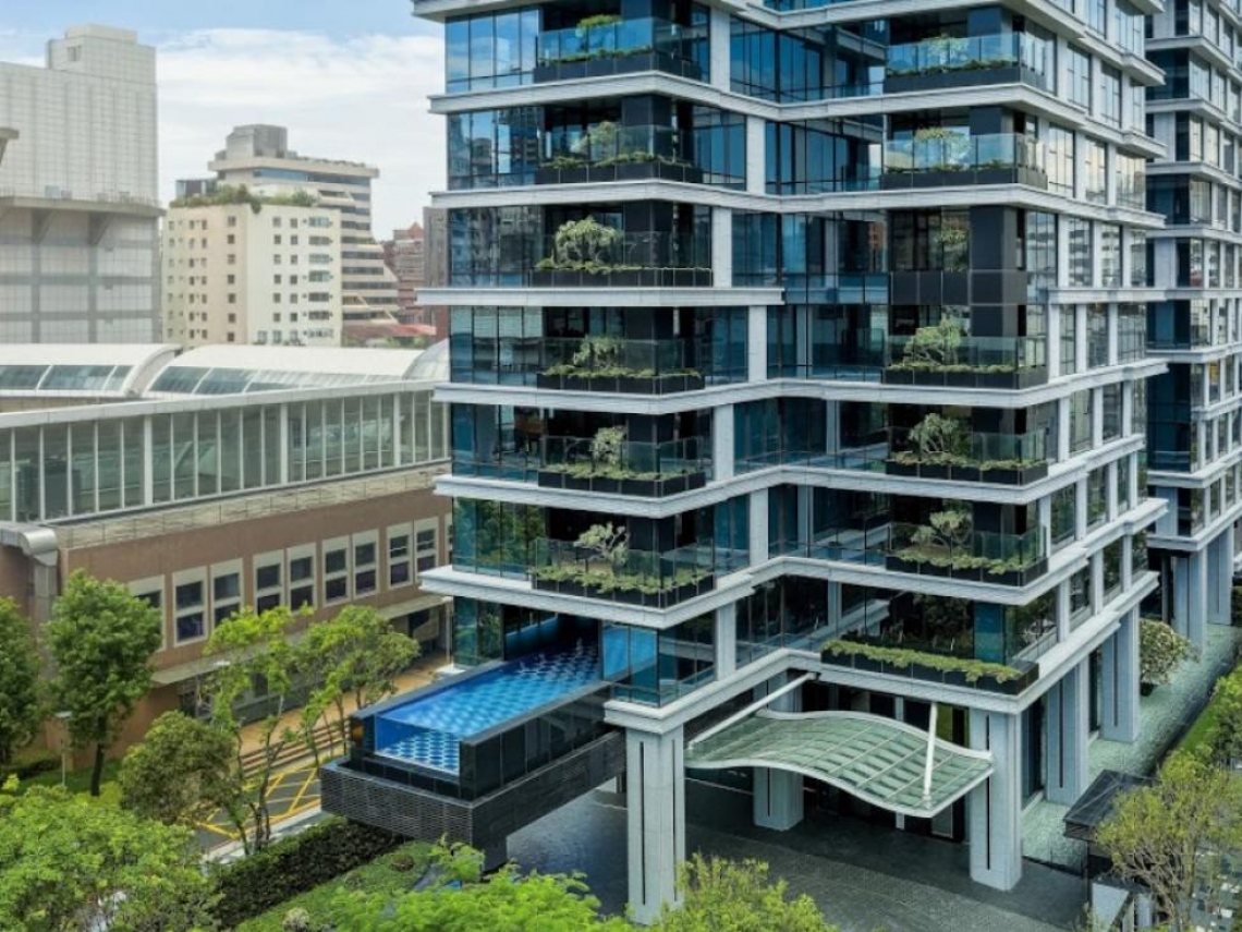 200萬豪宅俱樂部  「潤泰敦峰」1年賣10戶23.3億最威