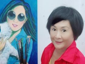 被亡夫拖累、事業斷崖式崩盤!陳艾妮第二人生不空轉,傾心繪畫「想找伴侶懷抱到老」