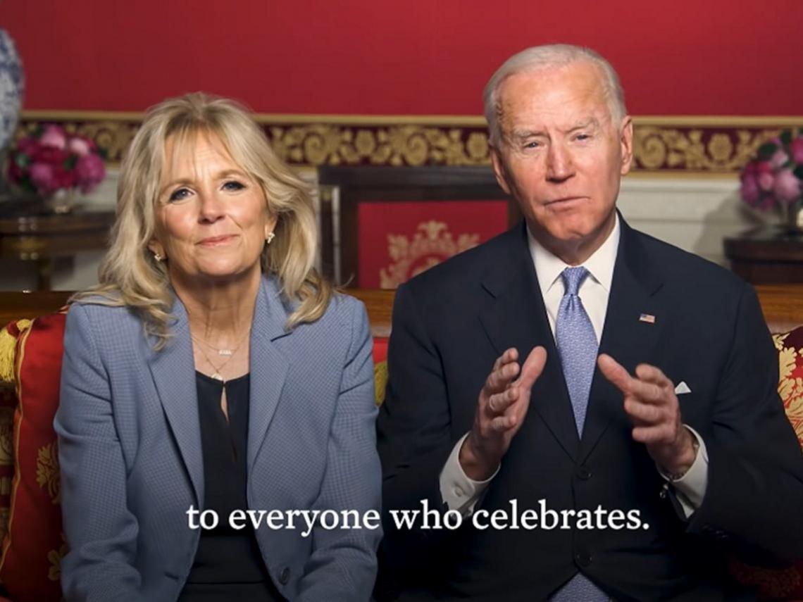 「只要團結就能讓今年更美好!」承諾掃除種族歧視,拜登夫婦拍影片賀牛年