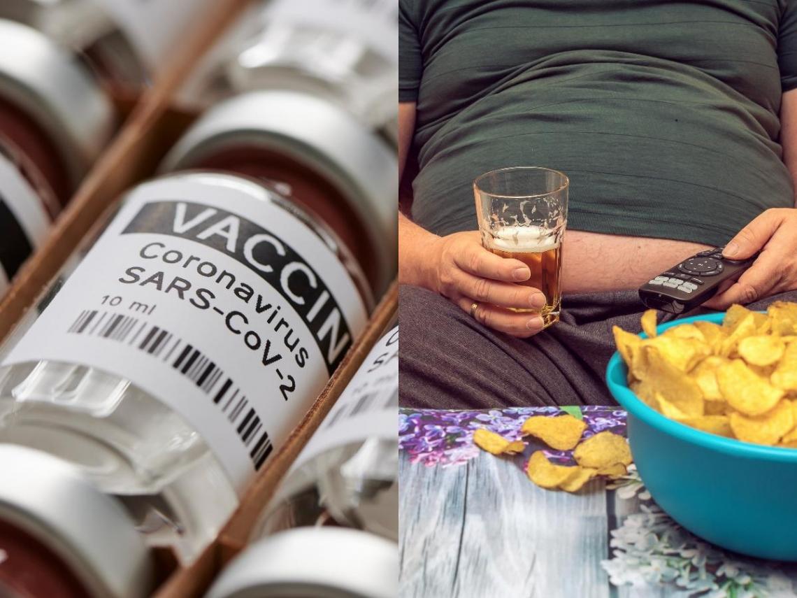 新冠疫苗對胖子無效?實測輝瑞&BNT:抗體數出現驚人變化 BMI超過「這數字」最危險