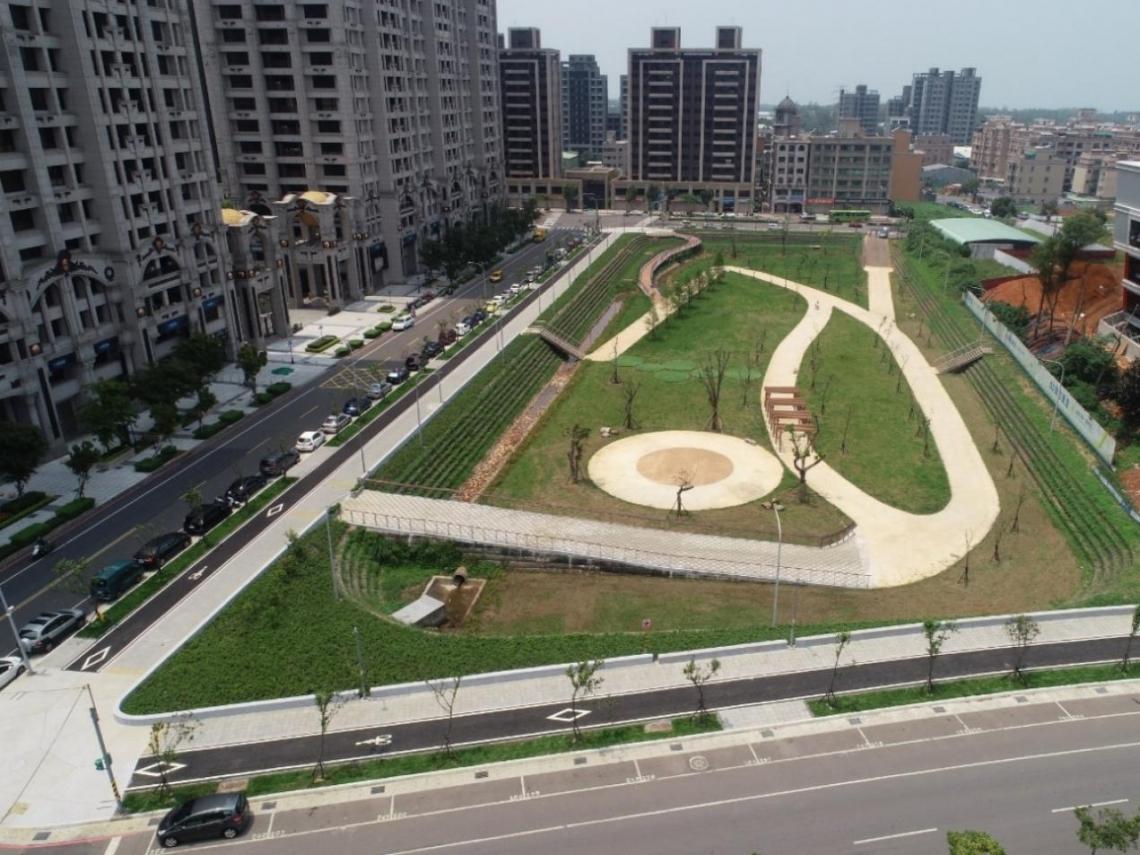 荷蘭水廣場搬到台灣!林口蓋28座滯洪公園 「與水共存」對抗極端氣候