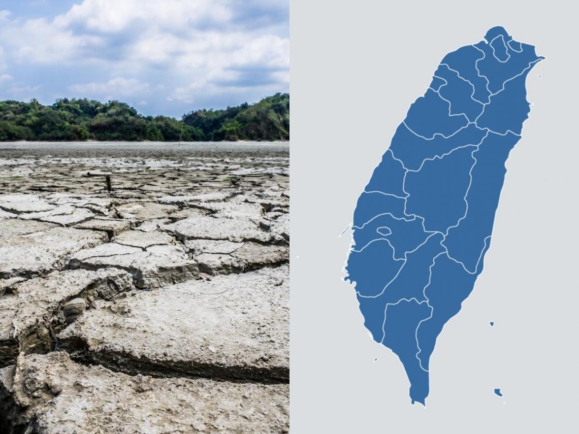 為何中南部嚴重「鬧水荒」?一張對比圖秒懂  翡翠水庫「從不缺水」2原因揭曉