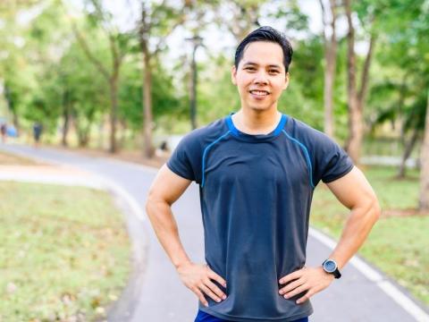 50歲的他減了26KG,精神奕奕充滿活力!4減重秘訣:量力而為才能不過度瘦身