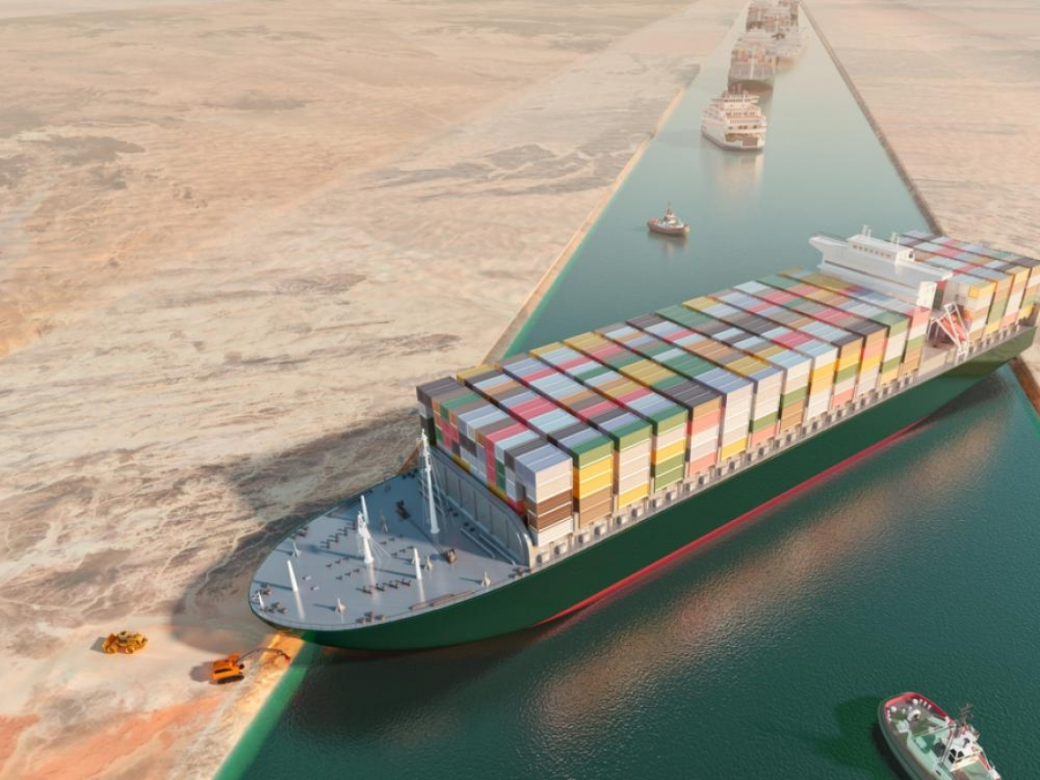 長榮貨輪脫困後,全球貨櫃貿易真的沒事了?這是長賜號「卡船」要給全世界的警告...