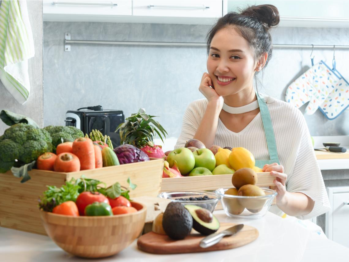 要吃多少蔬果,才能降低死亡風險?哈佛研究:每天X克水果X克蔬菜,是健康長壽關鍵