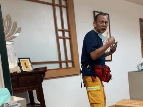 熱血護理長兼特搜隊直奔隧道、再回急診搶命:最遺憾救不回那位一度恢復呼吸的他