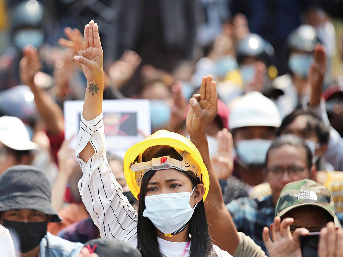 美國暫停貿易往來  物流、金流、人力停擺 緬甸政經不安寧  台商的衝擊可控嗎?