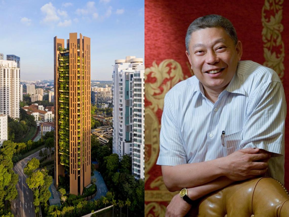 旺旺蔡衍明出手!狂砸63億包「整棟20戶」新加坡豪宅 兒子獨拿19戶