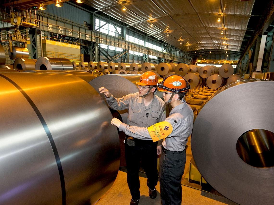 中鋼挑戰新材料  打群架提升附加價值