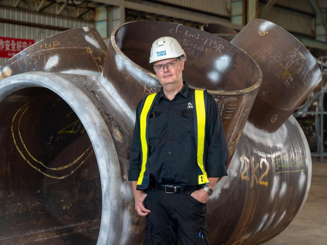 丹麥焊接冠軍長期駐台 就近助台灣供應商克服學習曲線