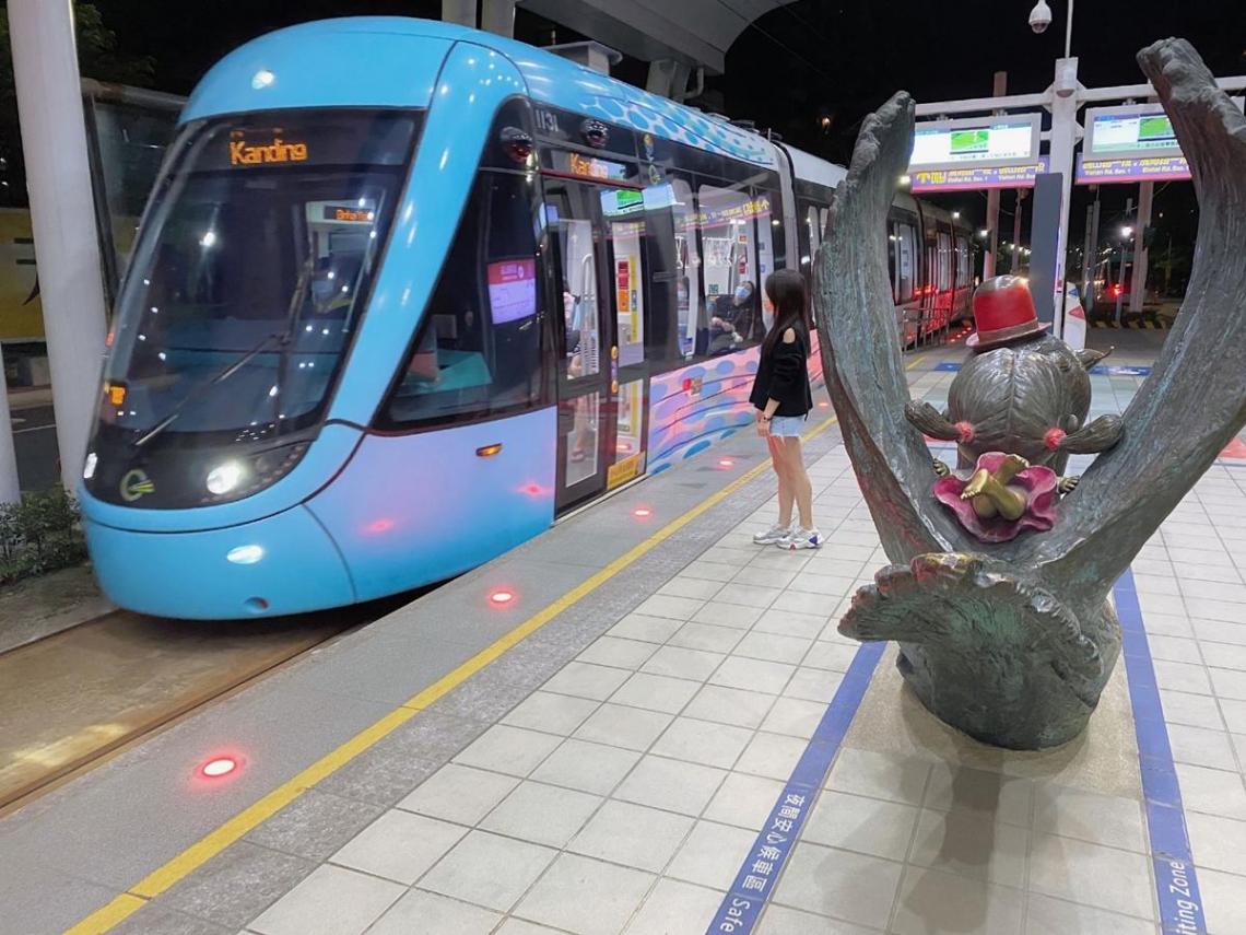 提升行車及搭乘安全 淡海輕軌推月台軌道全時監控及性別友善空間