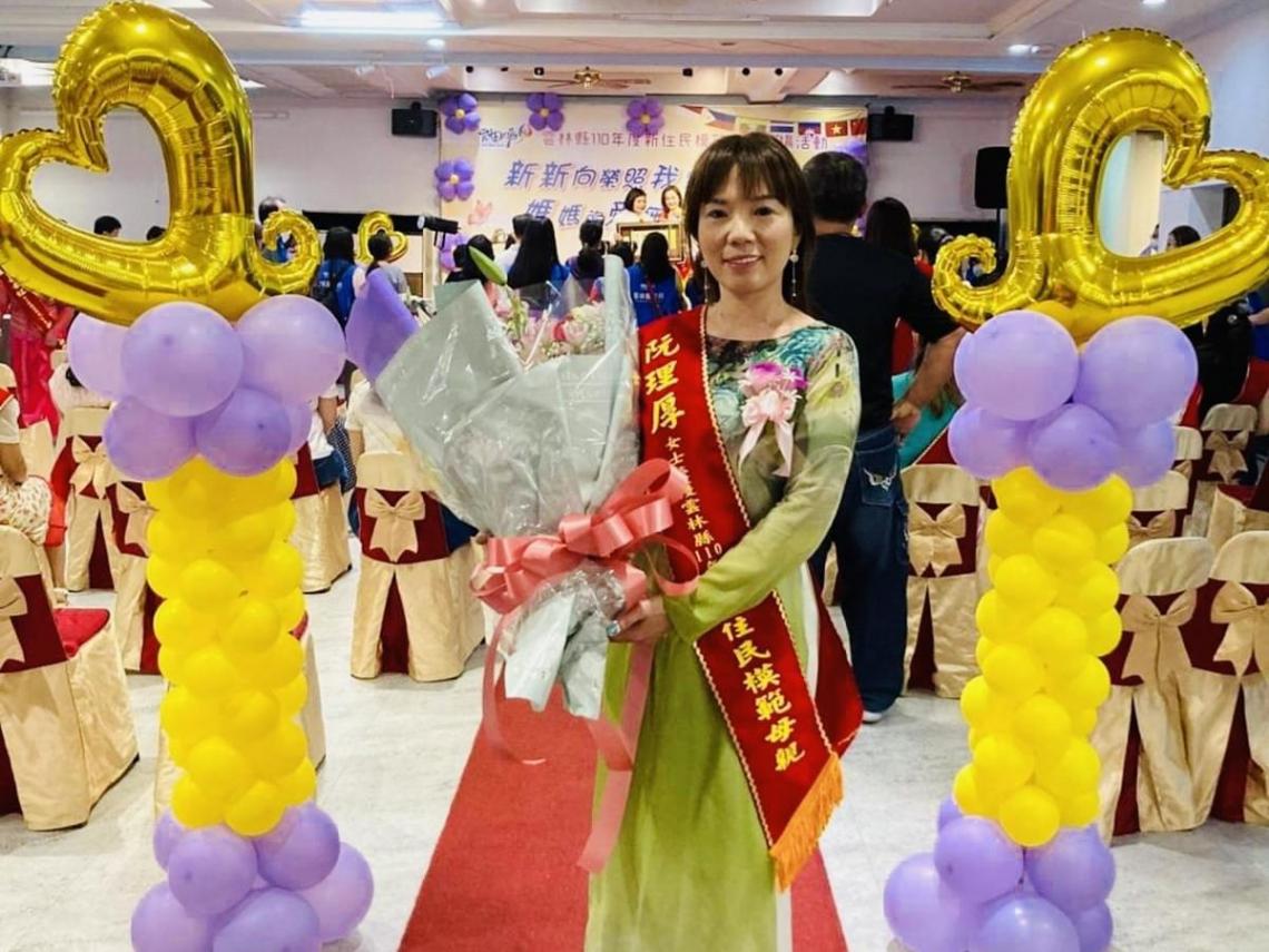 模範「新」媽媽 越南籍新住民阮理厚譜出精彩人生