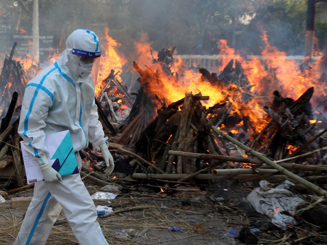 印度2千多萬確診、24萬死「海嘯式」疫情給台灣的啟示!前衛生署長涂醒哲:2個國家都錯誤認知一件事