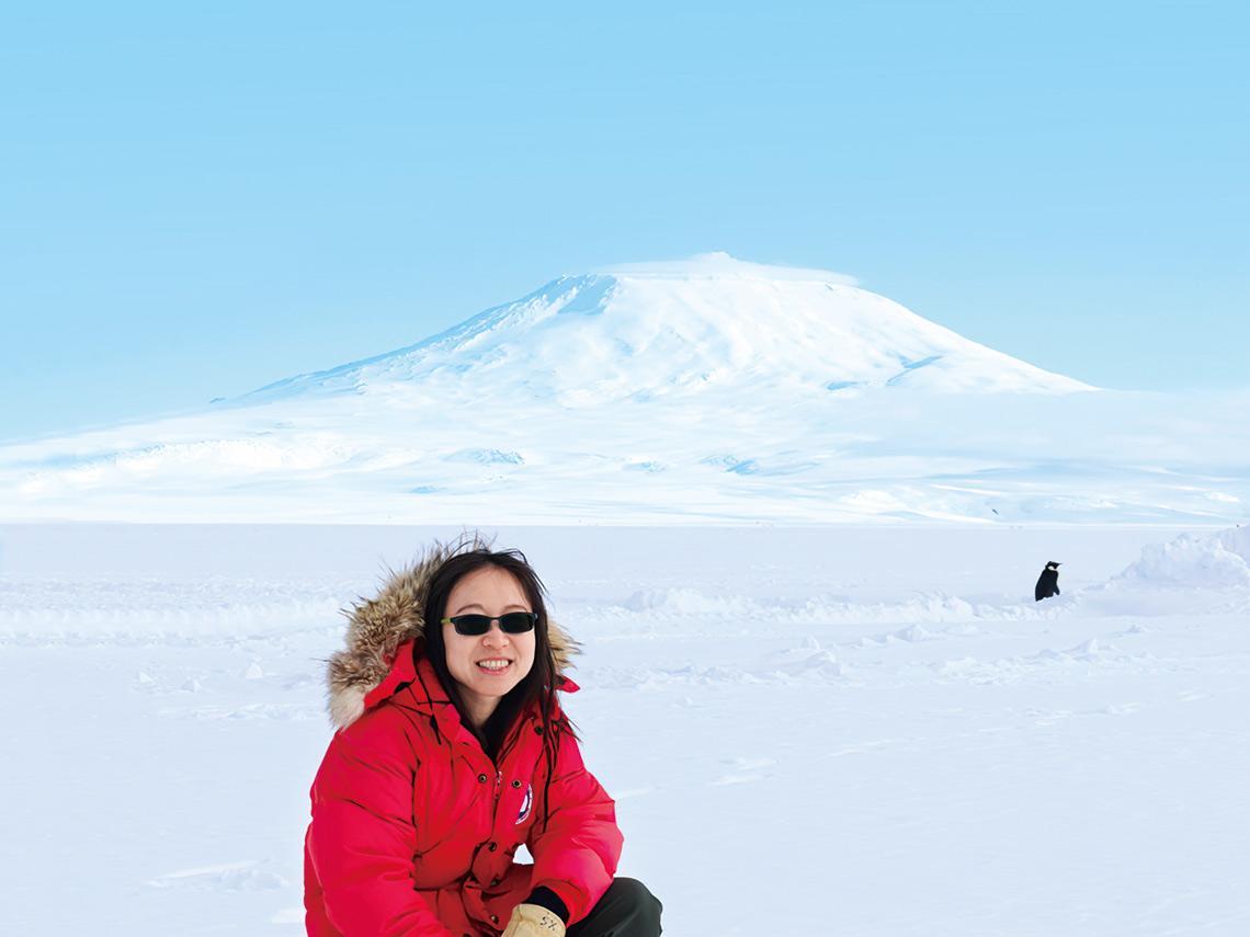 瘦小身軀征極地肋骨斷了仍咬牙撐 林映岑-40℃下探密太空 54周南極奇幻之旅
