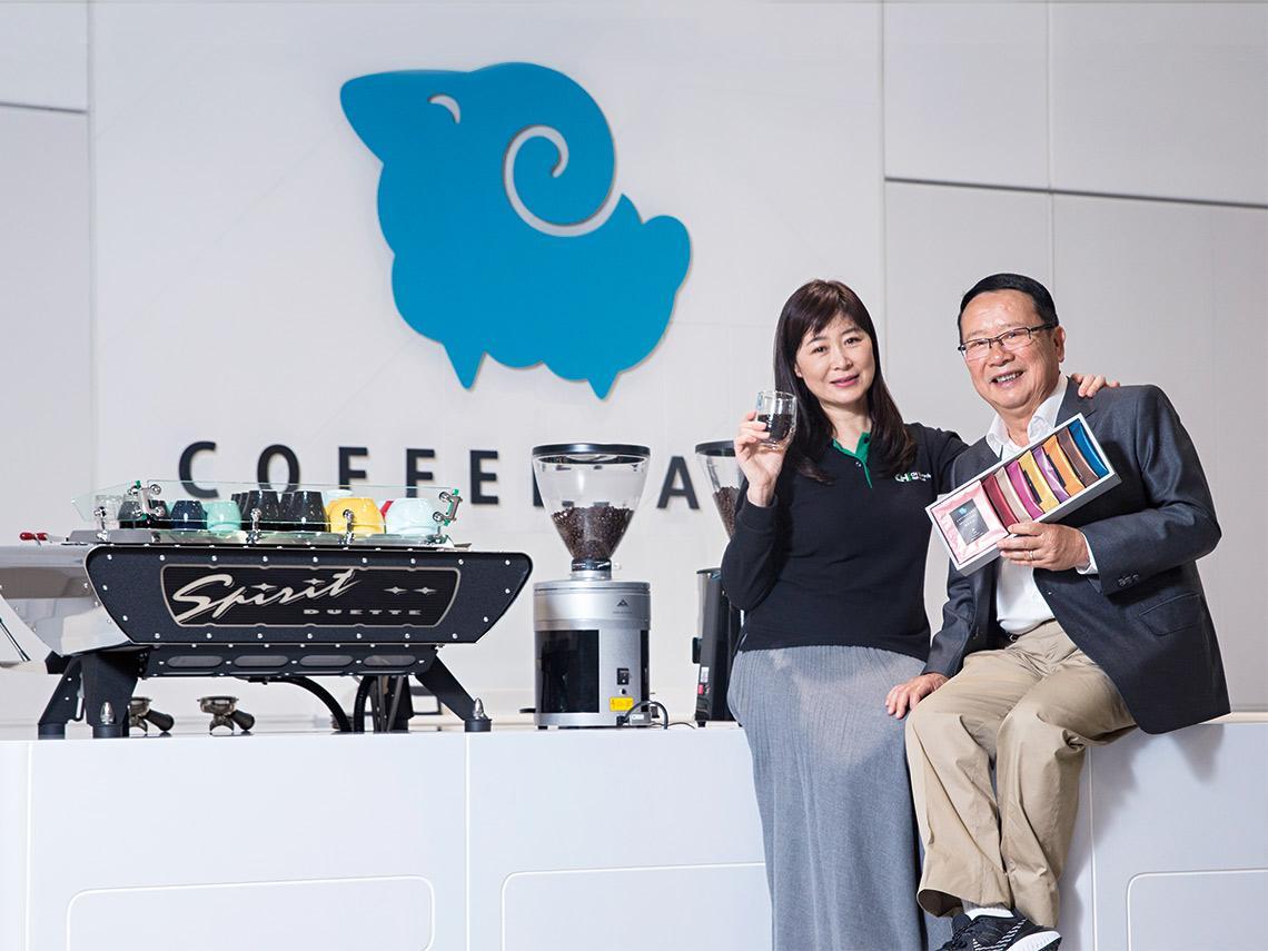 小林煎餅佐極品莊園咖啡 強強聯手解讀 正瀚董座祭出「配角學」搶食黑金商機
