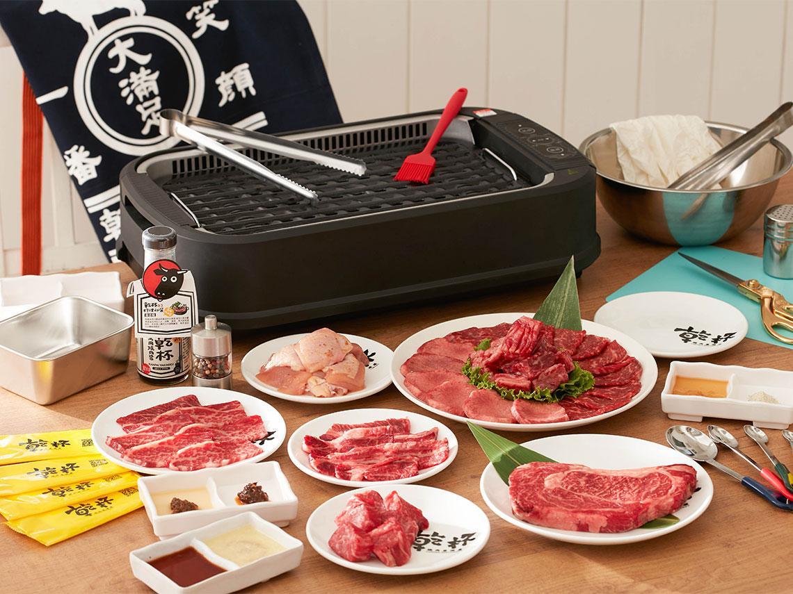 疫情求生》營業額暴跌85%!乾杯首創雲端燒肉訂閱制,估每月可創造百萬業績