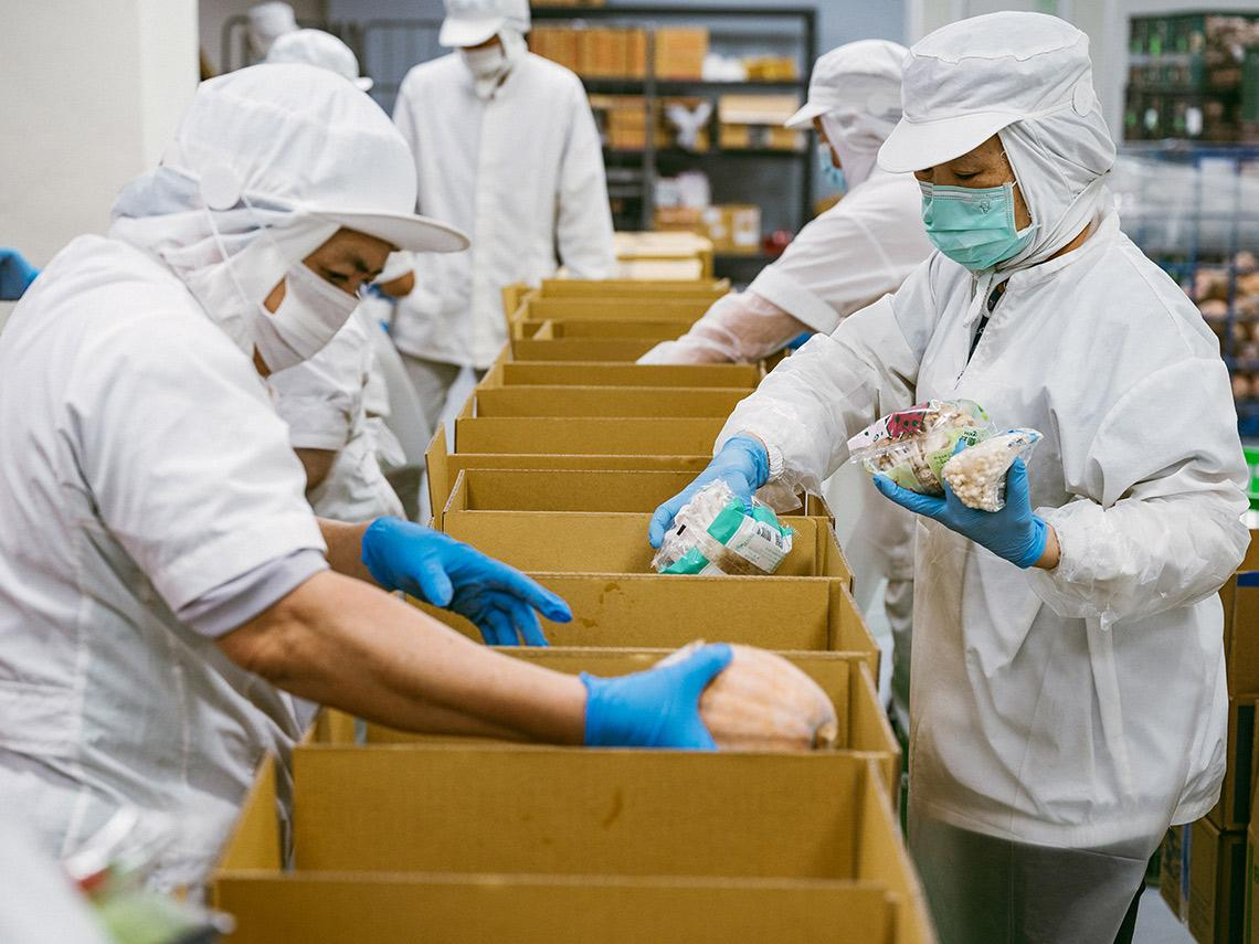 疫情下蔬菜箱意外大紅 連全家都上門談合作 這業者才推出「一天就賣1000箱!」