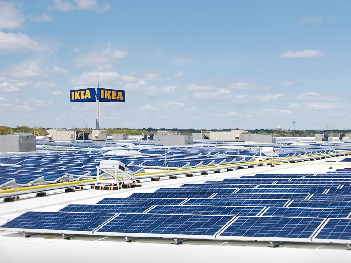全球家具龍頭的ESG狂熱 誓言讓一年兩千萬噸碳排「歸零」 IKEA豪砸二二○○億投資綠能發電廠