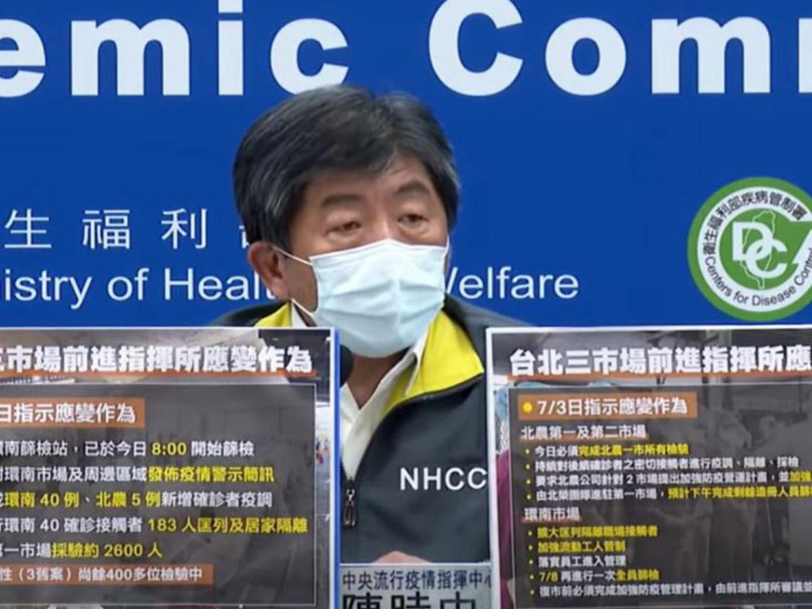 環南市場新增41人確診!北市連2天全台確診最多 染疫人數變「新北的1倍」