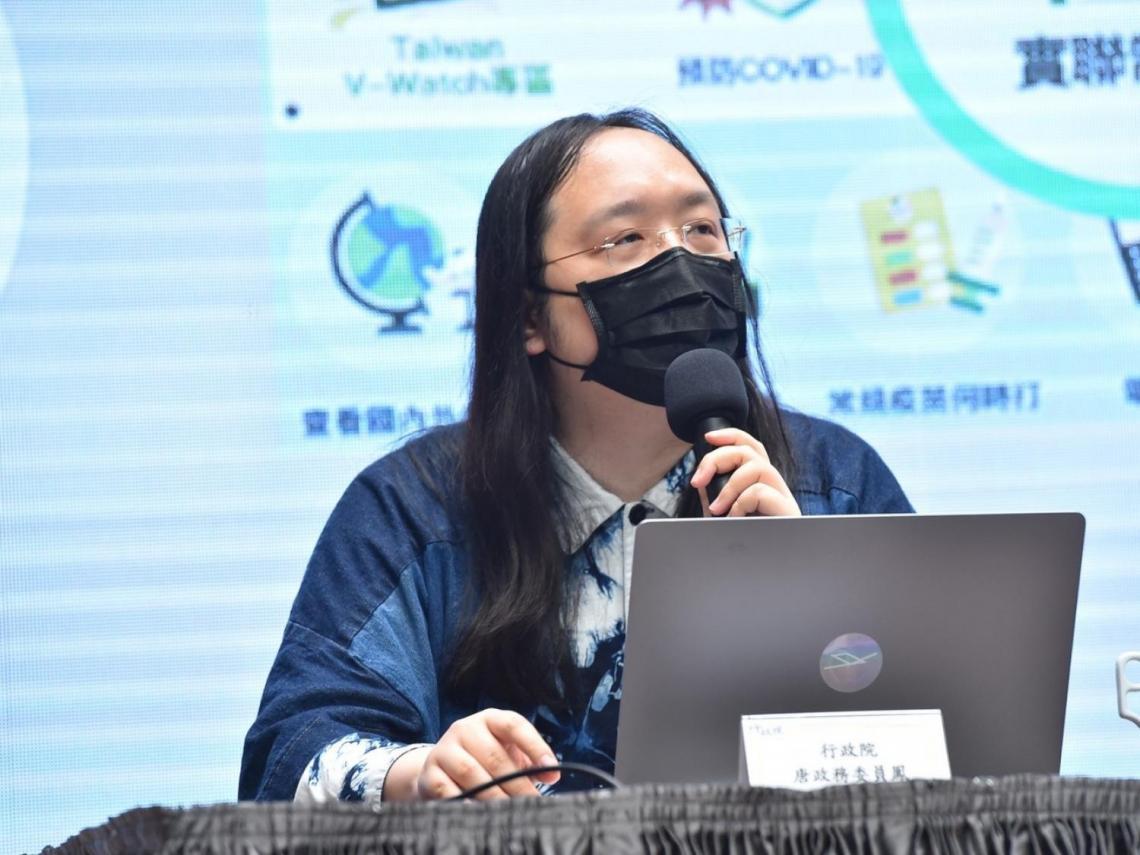 日媒稱台灣派「天才IT大臣」唐鳳 出席東奧開幕式 行政院證實了