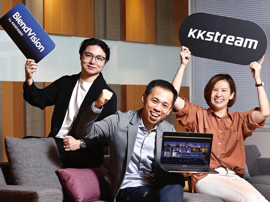 不只鴻海尾牙 韓國音樂大獎、電信巨擘KDDI都找它直播 串流小先鋒KKStream 赴日練兵打亞洲盃