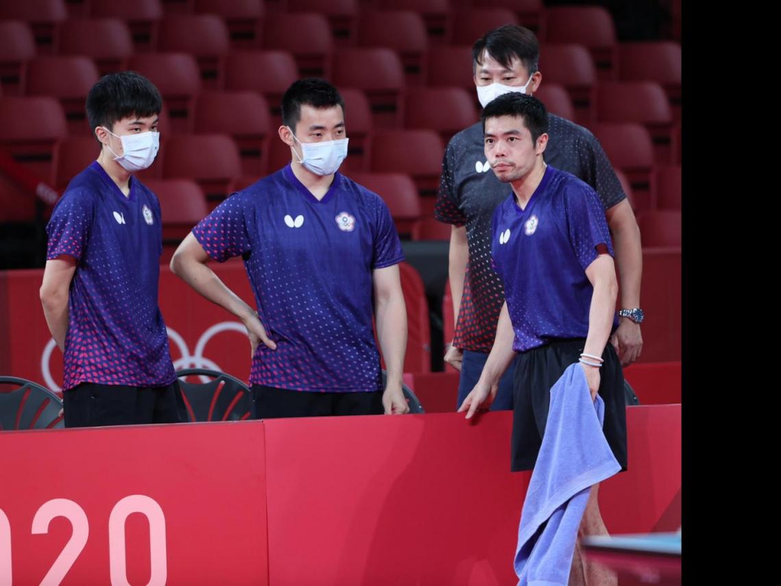 桌球男團止步8強!莊智淵林昀儒「跨世代」仍敗陣德國,網友喊:不再是一個人的武林