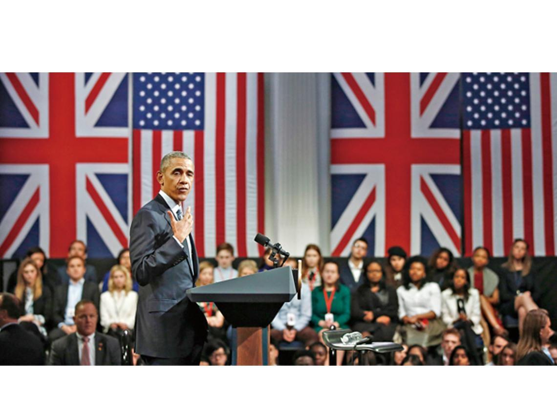 留歐盟!歐巴馬向英國新世代喊話