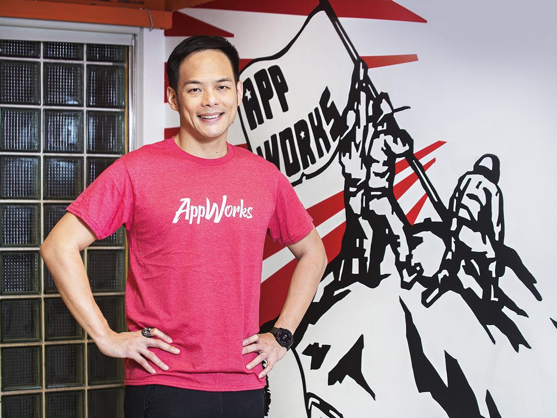 台灣大總經理 林之晨  獲無條件支持的新創先行者 擇善固執 做對的事別怕撬動體制