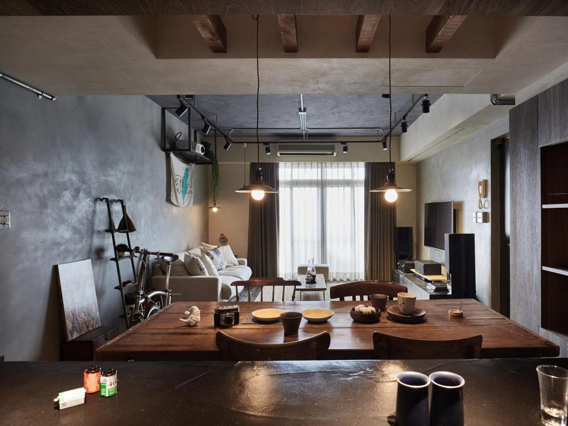 卡比斯室內裝修設計-白仟卉、楊俊宏「以生活姿態為基底,調和想要與需要」
