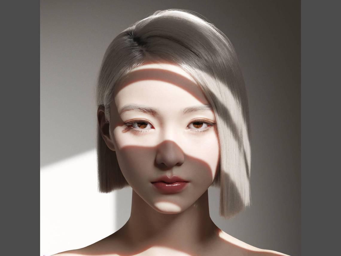 絕美銀髮少女一張大頭照獲讚10萬...當「超寫實數位人」超越明星,NFT世界會怎麼發展?