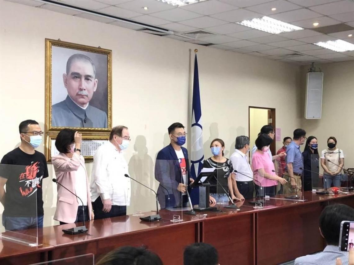 承認敗選!江啟臣宣布辭國民黨主席 「把波折留在過去,支持下一任當選者」