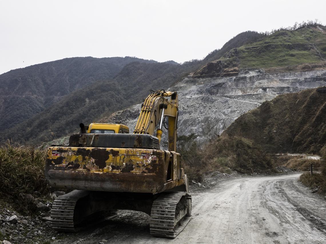 怪手荼毒雨林  「血木材」流進台灣