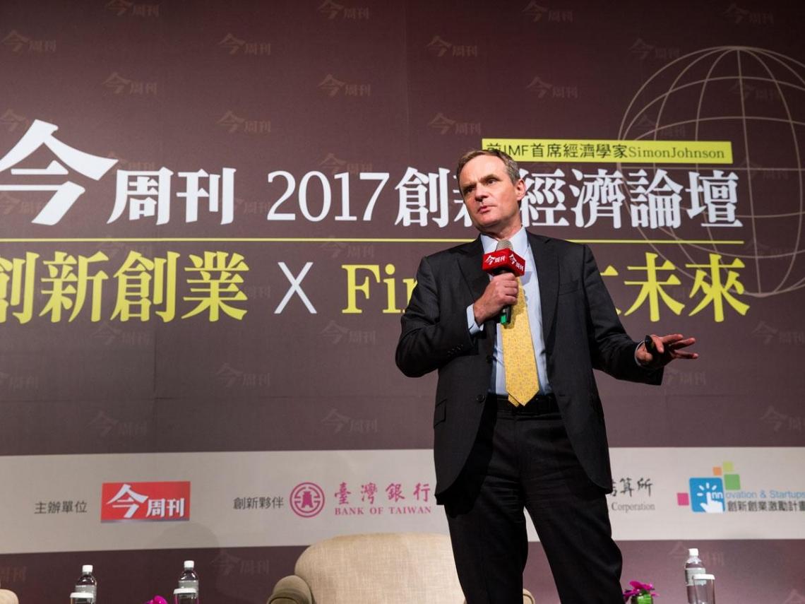 台灣金融科技卡關  賽門.強森指路