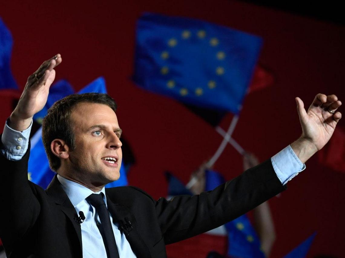 馬克宏的法國總統路 還有兩關卡要過