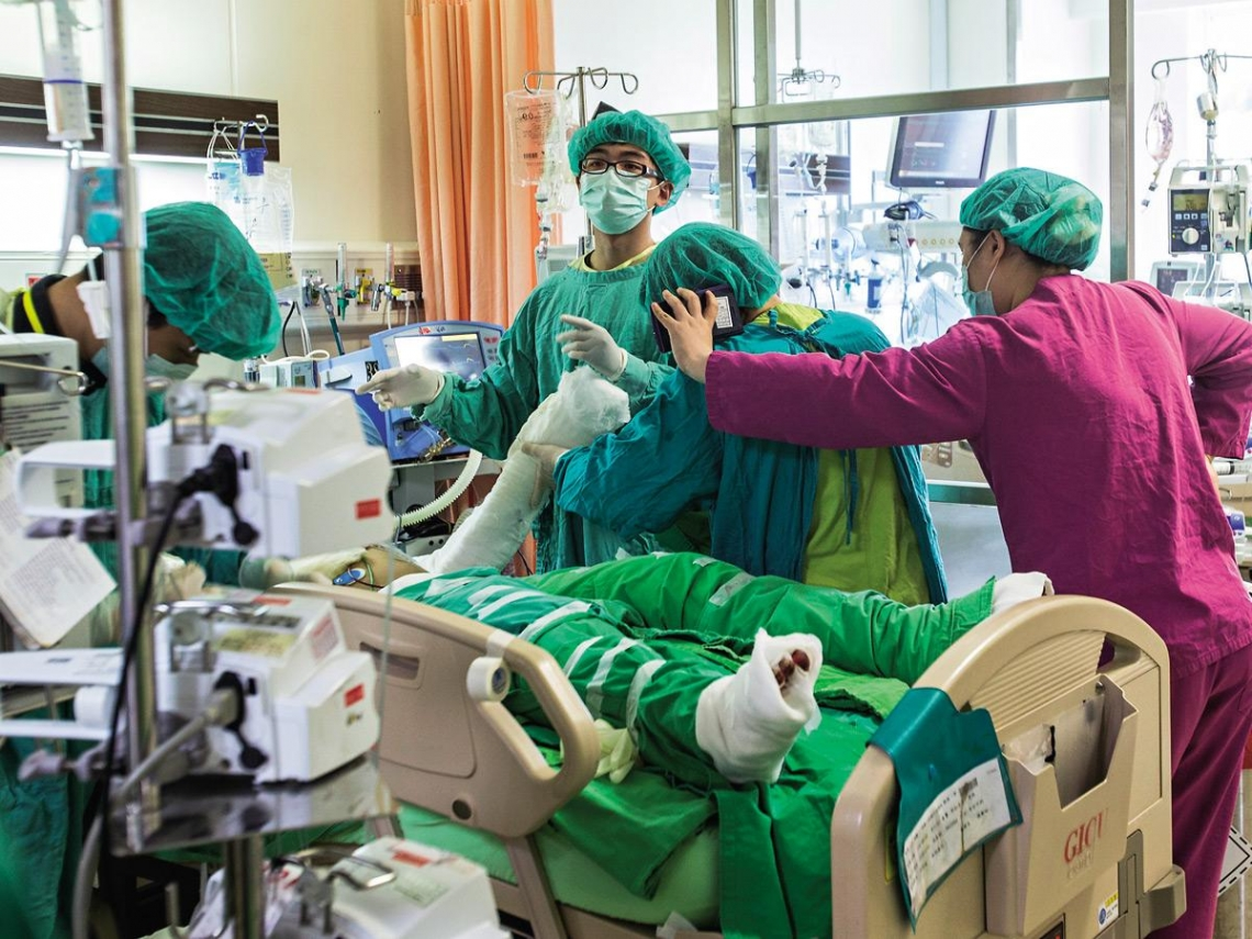 災難中的光 八仙醫護團隊