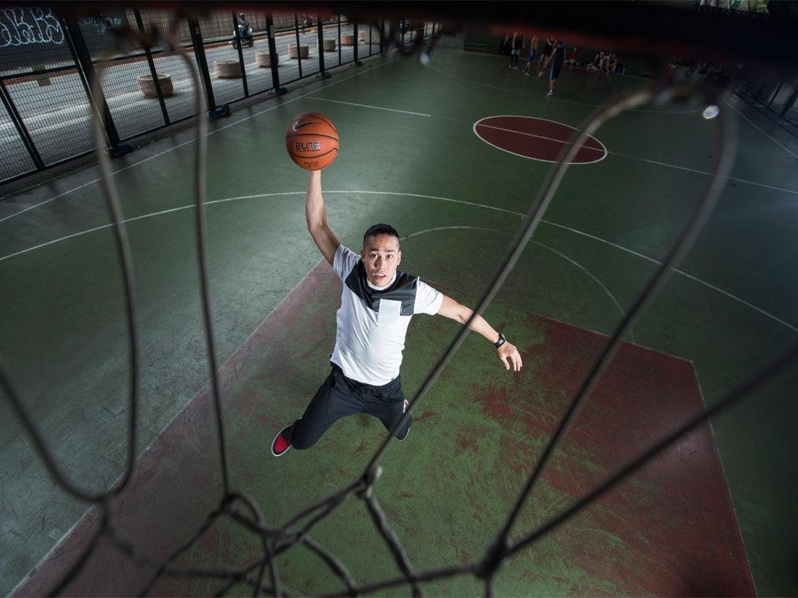 台灣籃球狀元陳盈駿 「內心沒有體脂肪」