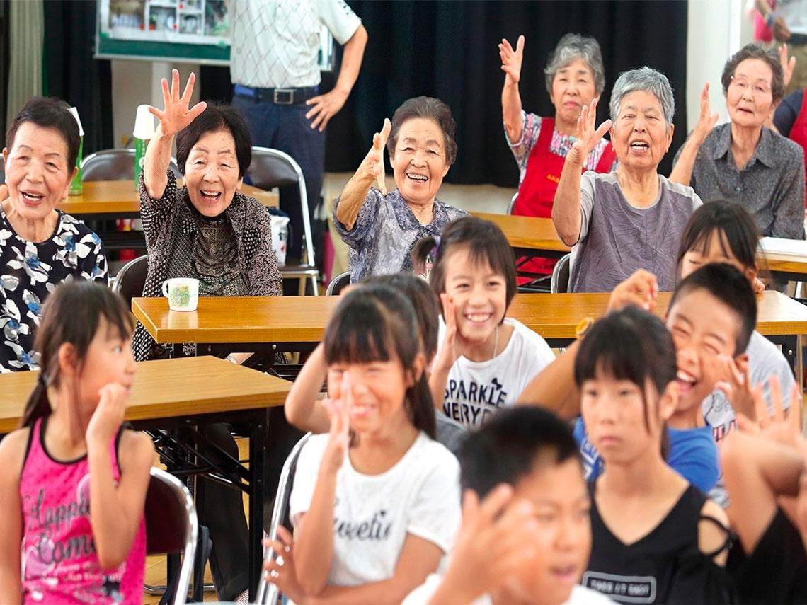 海港小城靠整合資源 讓老人置身樂活天堂