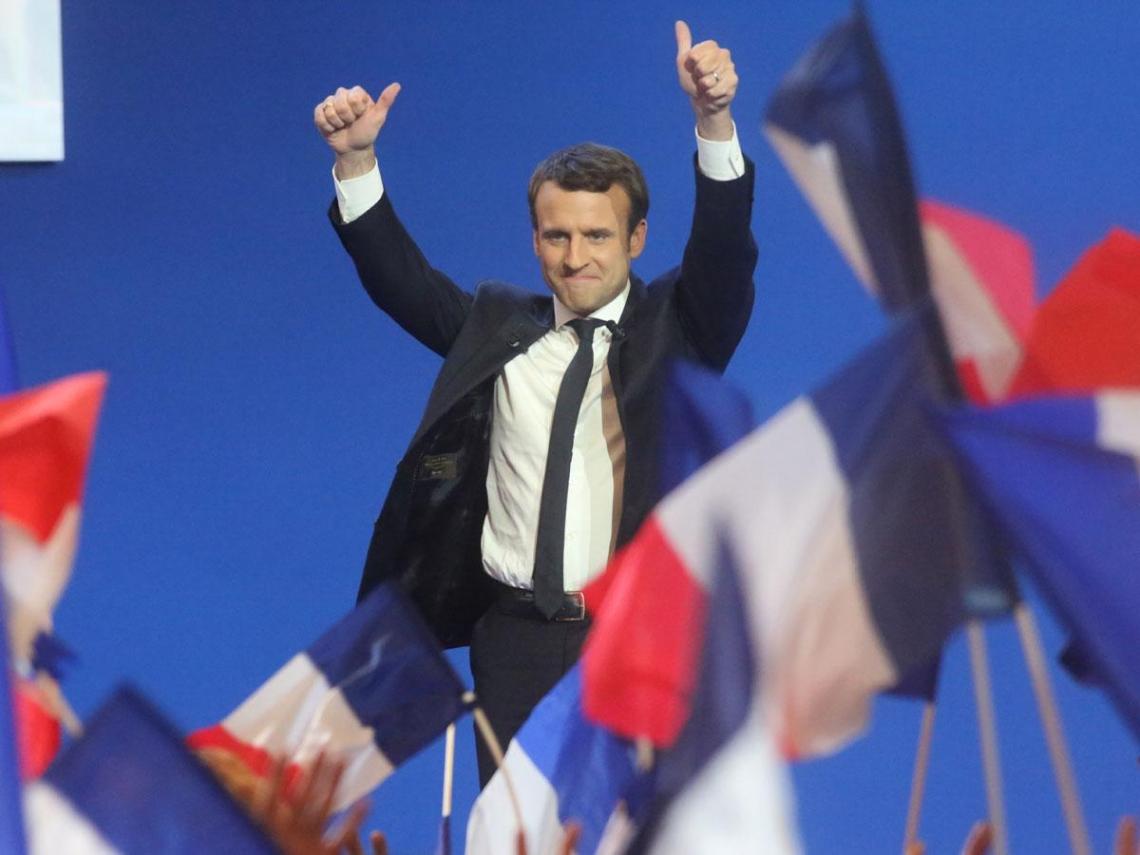 法國馬克宏憑什麼讓全球股市大漲